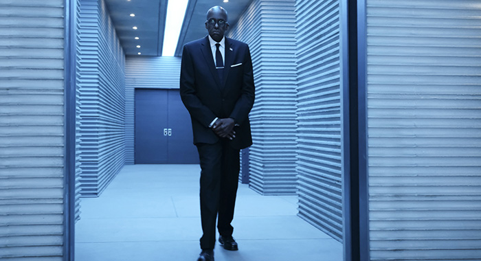 "Black Lightning -- ""The Book of the Apocalypse: Chapter Two: The Omega"" -- Image BLK216d_0242b.jpg -- Pictured: Bill Duke as Agent Odell -- Photo: Annette Brown/The CW -- © 2019 The CW Network, LLC. All rights reserved"