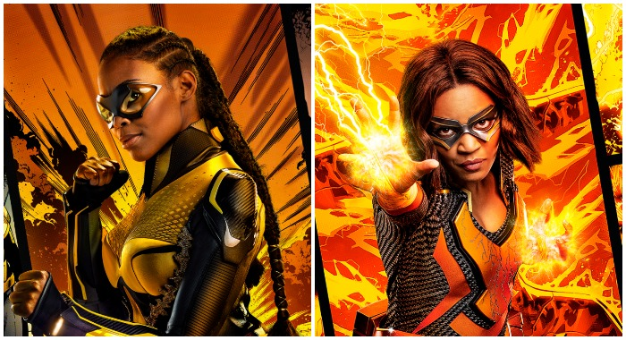 Black Lightning - Nafessa Williams as Thunder and China Anne McClain as Lightning