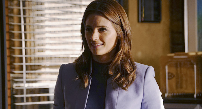 CASTLE, Stana Katic (Richard Cartwright/ABC/Courtesy Everett Collection)