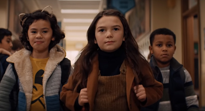 Brooklynn Prince in Home Before Dark in Apple TV+ trailer screencap (Apple)