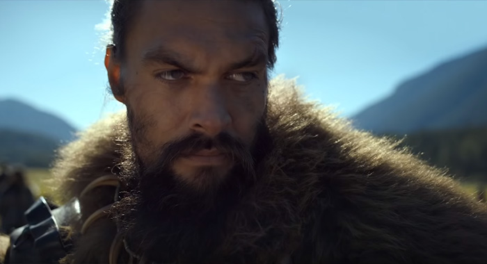 Jason Momoa in See in Apple TV+ trailer screencap (Apple)