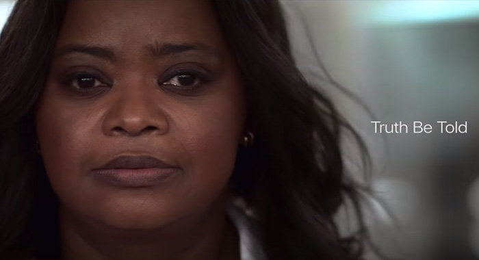 Octavia Spencer in Truth Be Told in Apple TV+ trailer screencap (Apple)