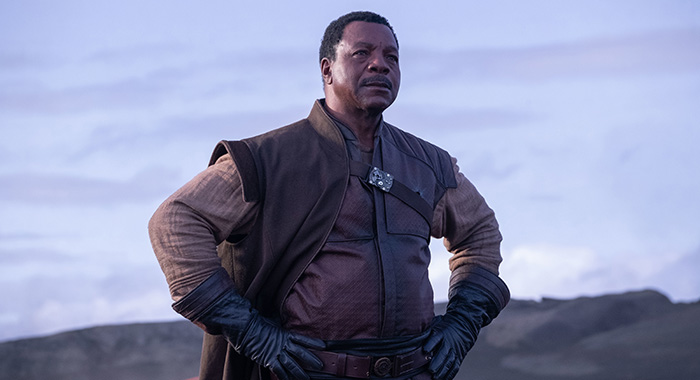 Greef (Carl Weathers) in Lucasfilm's THE MANDALORIAN.