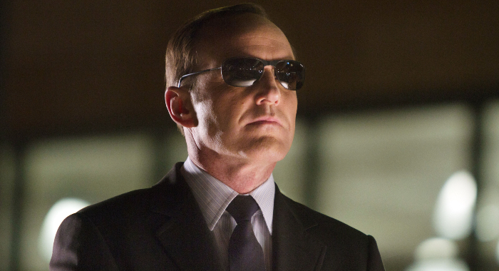Agent Coulson in The Avengers