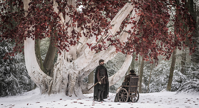 Jaime and Bran in Game of Thrones season 8, episode 2 (Helen Sloan/HBO)
