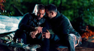 "The 100 -- ""Sanctum"" -- Image Number: HUN601b_0281r.jpg -- Pictured (L-R): Jarod Joseph as Miller and Sachin Sahel as Jackson -- Photo: Diyah Pera/The CW"