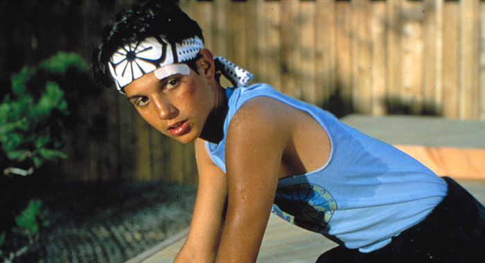 THE KARATE KID, Ralph Macchio, 1984. ©Columbia Pictures/Courtesy Everett Collection