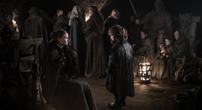 Game of Thrones season 8, episode 3 (Helen Sloan/HBO)