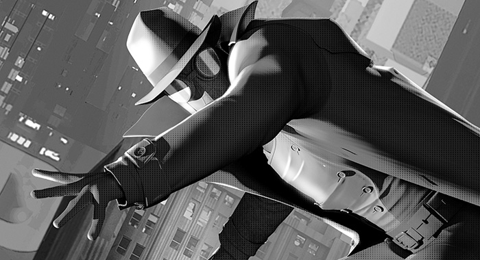 Spider-Man Into the Spider-Verse Noir (Sony Pictures)