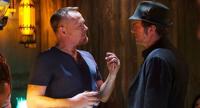 Jared Harris and Thomas Jane in The Expanse (Syfy)