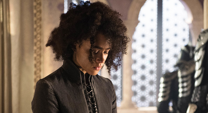 Missandei in Game of Thrones season 8, episode 4 (Helen Sloan/HBO)