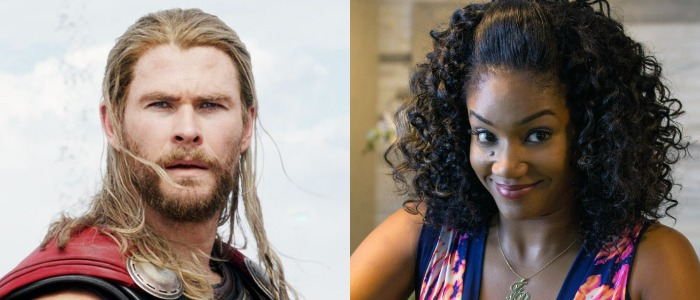 Chris Hemsworth and Tiffany Haddish