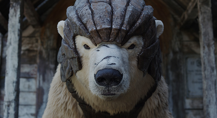 Ioryk Byrnison the bear in His Dark Materials (HBO)