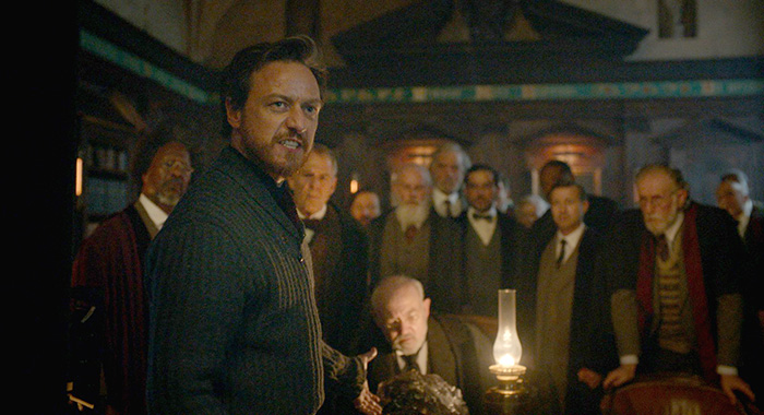James McAvoy in His Dark Materials (HBO)