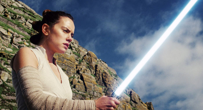 Star Wars: The Last Jedi, Daisy Ridley as Rey (Walt Disney Studios Motion Pictures/Lucasfilm Ltd)
