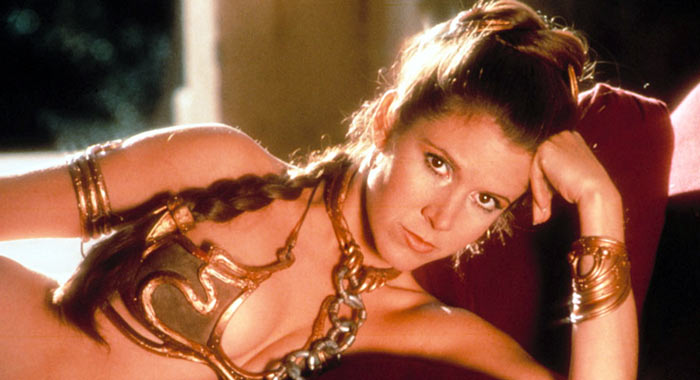 Star Wars: Return of the Jedi, Carrie Fisher as Leia (20th Century Fox)