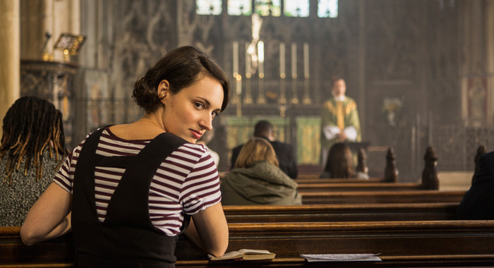 Phoebe Waller-Bridge in Fleabag season 2 (Credit: Steve Schofield/Amazon Prime)