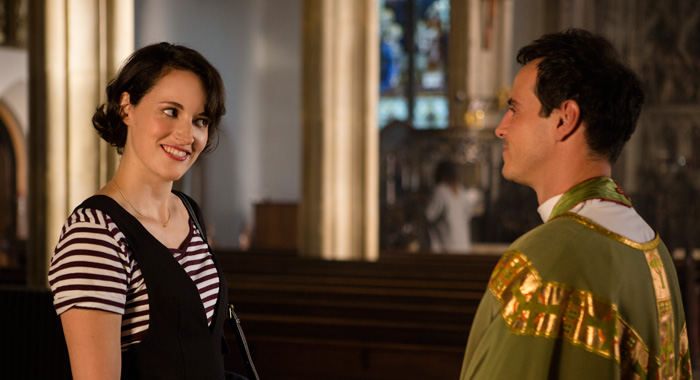 Phoebe Waller-Bridge and Andrew Scott in Fleabag season 2 (Credit: Steve Schofield/Amazon Prime)