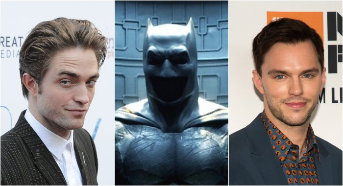 Batman Pattinson and Hoult