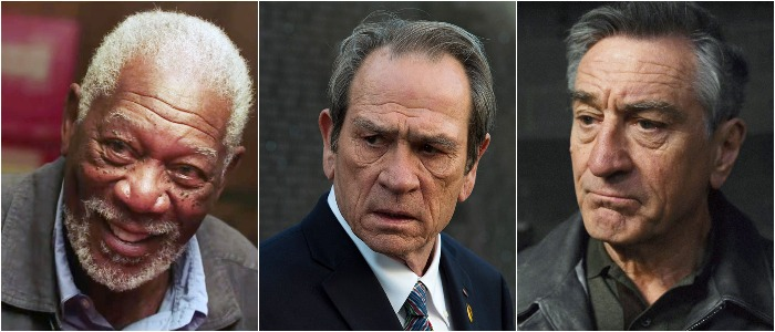 Freeman, De Niro, Jones