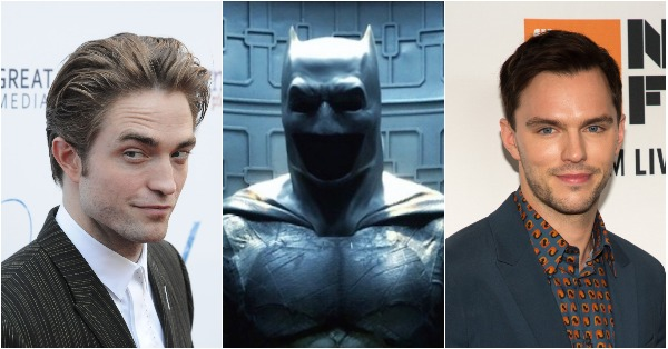 Robert Pattinson and Nicholas Hoult Vying to Be Youngest Batman Yet