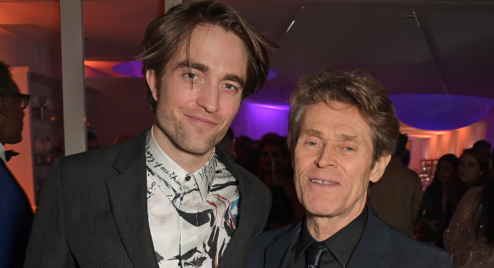 Robert Pattinson and Willem Dafoe