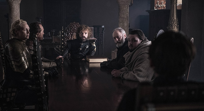 "Game of Thrones season 8, episode 6, series finale ""The Iron Throne"" (Helen Sloan/HBO)"