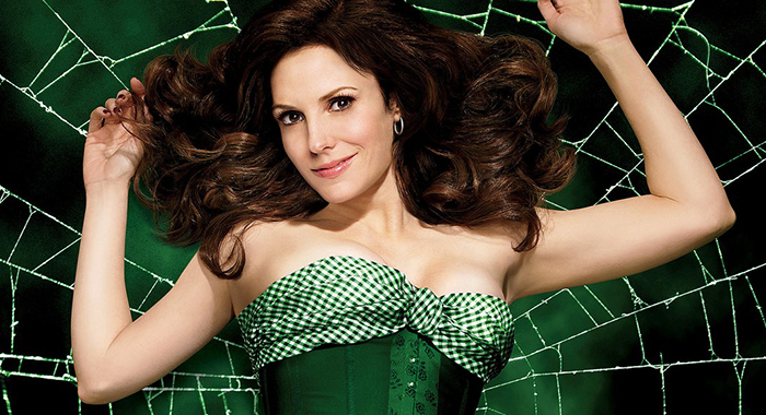Mary-Louise Parker in Weeds (Showtime)