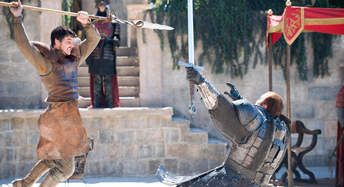 Viper versus Mountain, Game of Thrones (HBO)
