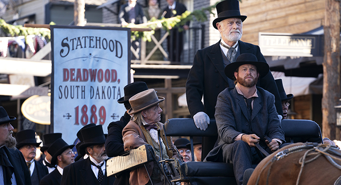 Gerald McRaney in Deadwood: The Movie. photo: Warrick Page/HBO