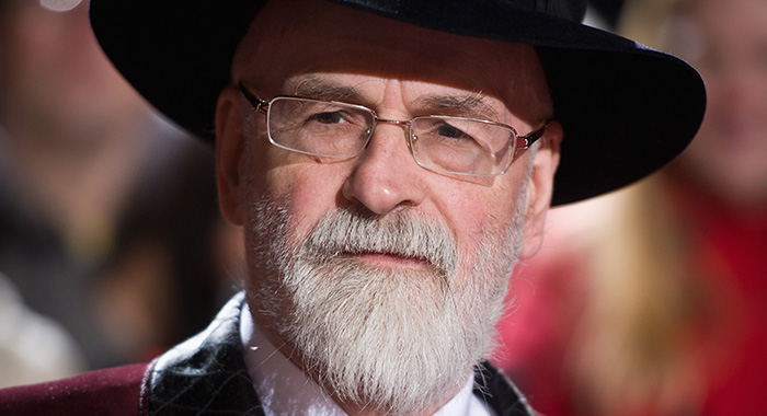 LONDON, ENGLAND - NOVEMBER 10: Terry Pratchett attends the Galaxy National Book Awards at BBC Television Centre on November 10, 2010 in London, England. (Photo by Ian Gavan/Getty Images)