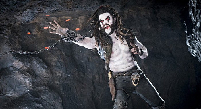 "KRYPTON -- ""Will To Power"" Episode 203 -- Pictured: Emmett J. Scanlan as Lobo -- (Photo by: Steffan Hill/SYFY)"