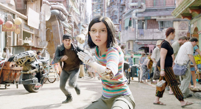 Alita: Battle Angel (Twentieth Century Fox Film Corp. /Courtesy of Everett Collection)