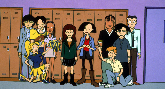 DARIA, Animated MTV Series, 1997-2002. © MTV/Everett Collection