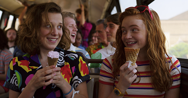 <em>Stranger Things 3</em> Starts Dropping Summer Swag: Burgers, Sneakers, Floaties, and More