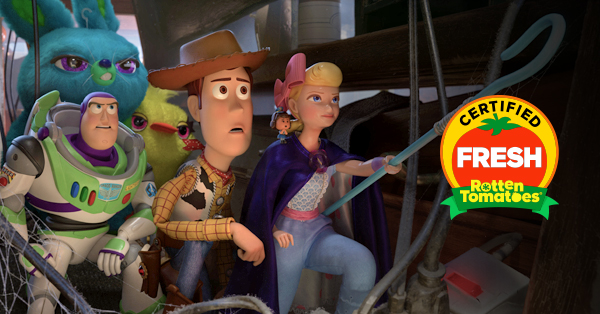 Toy Story 4 Is Certified Fresh