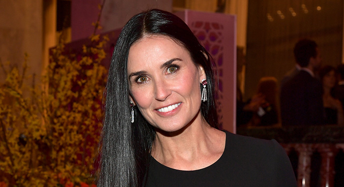 BEVERLY HILLS, CALIFORNIA - FEBRUARY 28: Demi Moore attends The Women's Cancer Research Fund's An Unforgettable Evening Benefit Gala at the Beverly Wilshire Four Seasons Hotel on February 28, 2019 in Beverly Hills, California. (Photo by Amy Sussman/Getty Images)