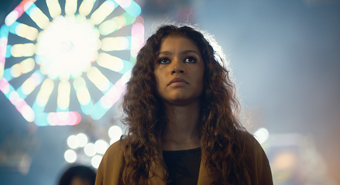Euphoria Season 1, episode 4 (debut 7/7/19): Zendaya. photo: Courtesy of HBO