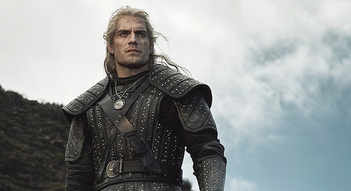 Henry Cavill in The Witcher (Netflix)