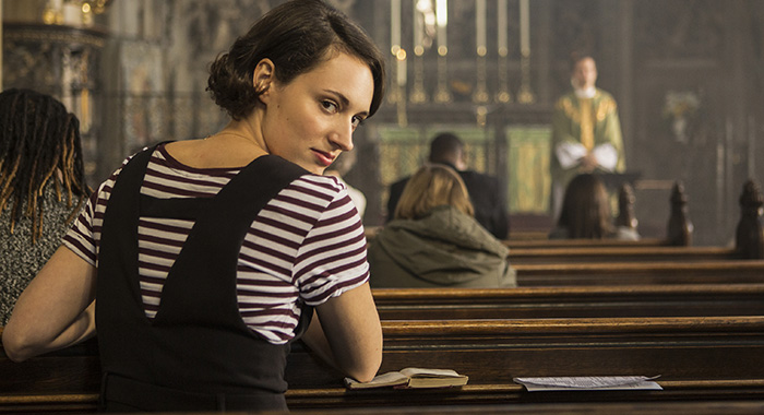 Fleabag season 2 Phoebe Waller-Bridge and Andrew Scott (Steve Schofield/Amazon Prime Video)