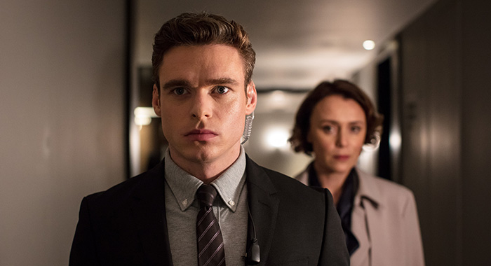 Bodyguard SEASON Season 1 EPISODE 3 PICTURED Richard Madden, Keeley HawesPHOTO CREDIT Sophie Mutevelian/World Productions/Netflix