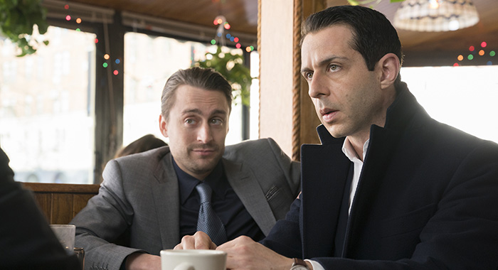 Succession - Episode 6 (debut 7/8/18): Kieran Culkin, Jeremy Strong. photo: Peter Kramer/HBO