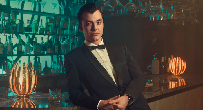 Jack Bannon as Alfred Pennyworth in Pennyworth (Epix)