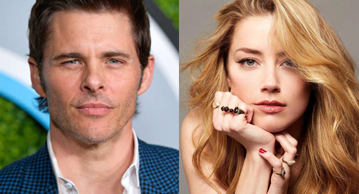 The Stand casting announcement: James Marsden (Photo Credit: Matt Winkelmeyer), Amber Heard (Photo Credit: Flavien Prioreau) - courtesy CBS All Access