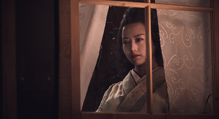 Kiki Sukezane as Yuko - The Terror _ Season 2 - Photo Credit: Ed Araquel/AMC