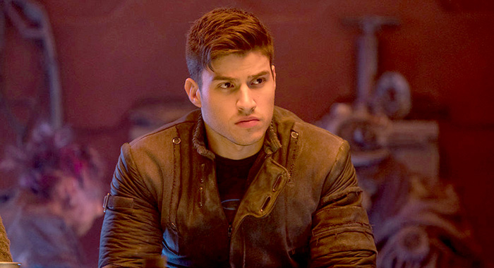 "KRYPTON -- ""Blood Moon"" Episode 209 -- Pictured: Cameron Cuffe as Seg-El -- (Photo by: Steffan Hill/SYFY)"