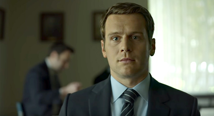 Jonathan Groff as Holden Ford in Mindhunter season 2 trailer screencap (Netflix)