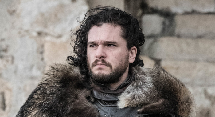 Kit Harington in the Game of Thrones series finale (Helen Sloan/HBO)