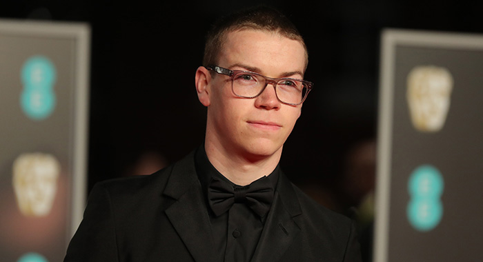 British actor Will Poulter poses on the red carpet upon arrival at the BAFTA British Academy Film Awards at the Royal Albert Hall in London on February 18, 2018. / AFP PHOTO / Daniel LEAL-OLIVAS (Photo credit should read DANIEL LEAL-OLIVAS/AFP/Getty Images)
