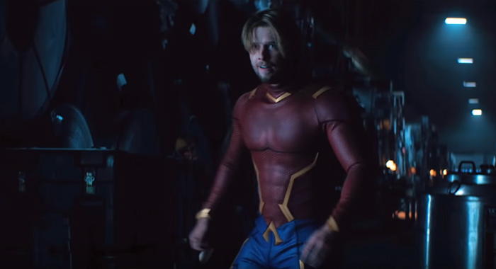 Drew Van Acker as Aqualad/Garth/Tempest in Titans season 2 trailer screencaps (DC Universe)